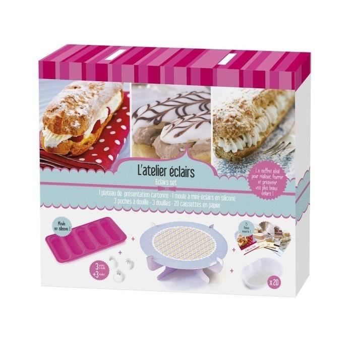 Lily cook coffret l 39 atelier eclairs achat vente ensemble p tisserie lily cook coffret - Coffret cuisine creative ...