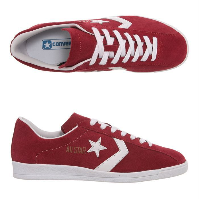 converse homme rouge basse