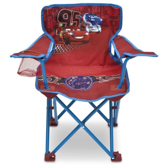 cars chaise pliable enfant et transportable achat vente fauteuil jardin cdiscount. Black Bedroom Furniture Sets. Home Design Ideas