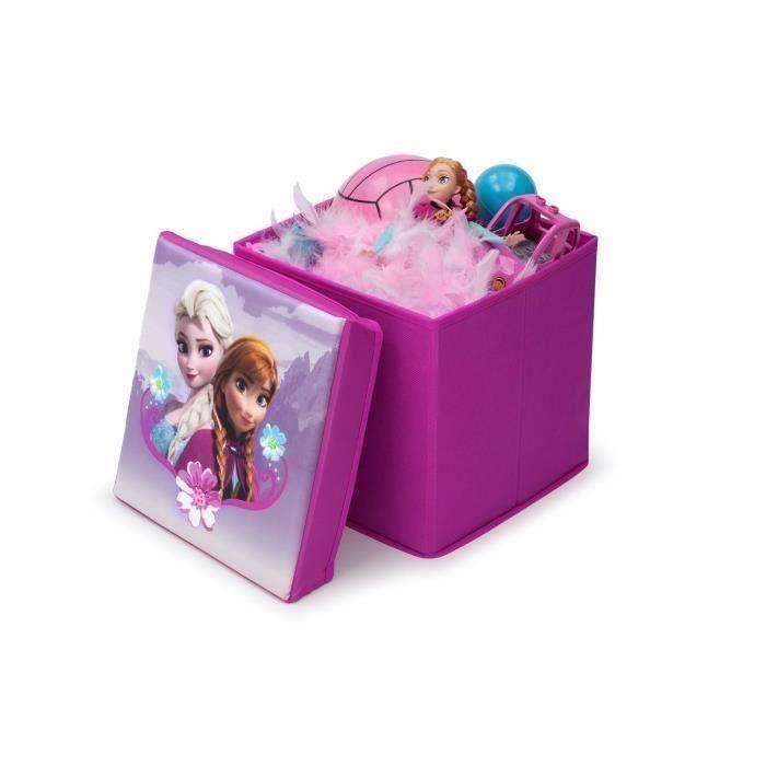 La reine des neiges pouf de rangement achat vente coffre jouets soldes cdiscount - Fauteuil reine des neiges ...