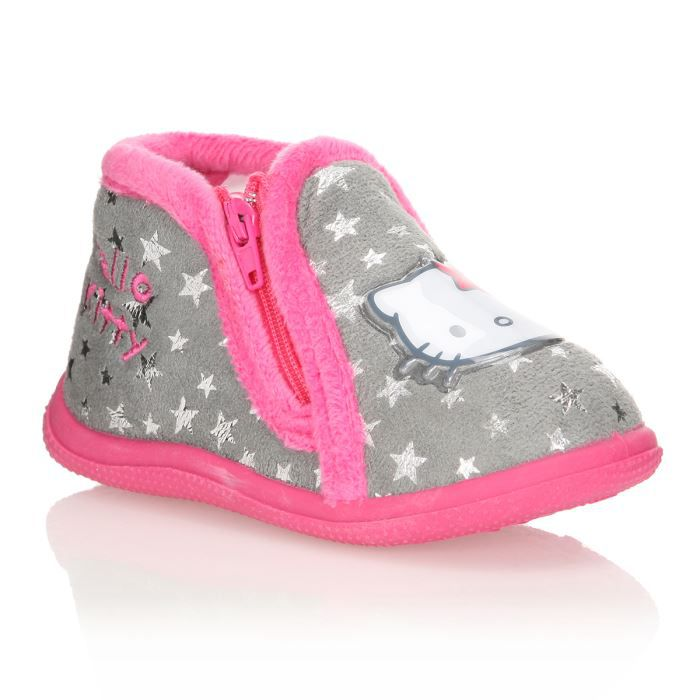 hello kitty chaussons ocida b b fille achat vente. Black Bedroom Furniture Sets. Home Design Ideas