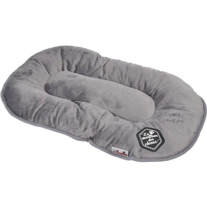 coussin flocon patchy 69 cm gris et noir pour chien. Black Bedroom Furniture Sets. Home Design Ideas