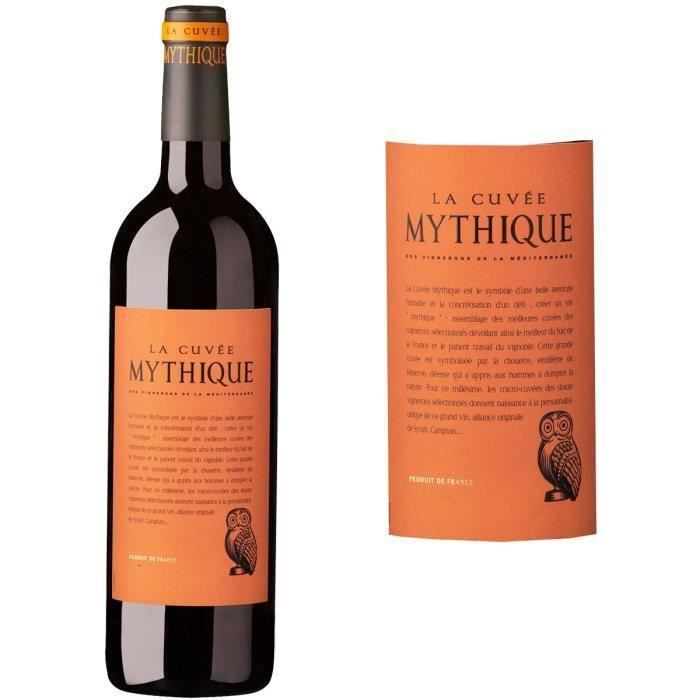 destockage cuv e mythique igp oc 2014 vin rouge x1 vin rouge au meilleur prix cdiscount. Black Bedroom Furniture Sets. Home Design Ideas