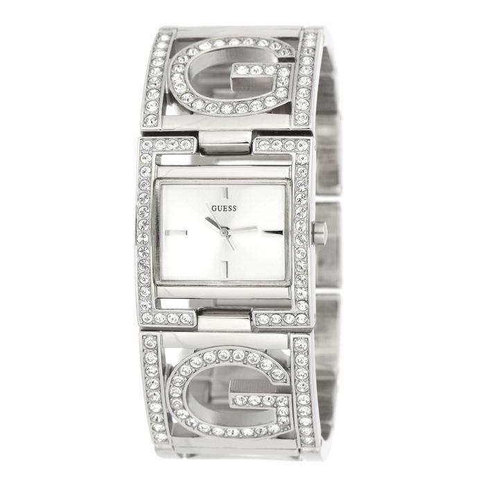 GUESS Montre Femme Blanc, - Achat/vente montre - Cdiscount