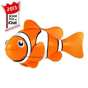 ROBOT - ANIMAL ANIMÉ Blister Robo Fish Poisson Orange