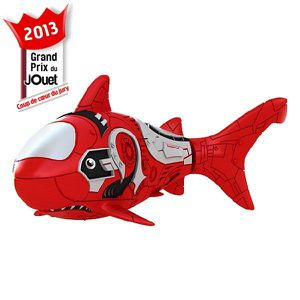 ROBOT - ANIMAL ANIMÉ Blister Robo Fish Requin Rouge