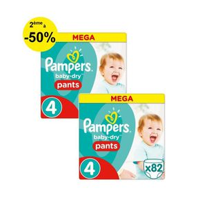 COUCHE PAMPERS Baby Dry Pants Taille 4 - 8 à 15 kg - 164