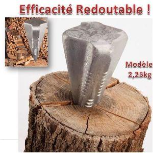 FENDEUR DE BÛCHES Coin a bois eclateur 2,25 kg forme etoile