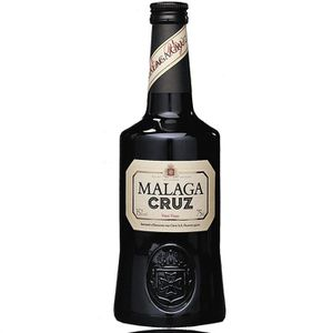 Apéritif à base de vin Malaga Cruz vin vieux Espagnol
