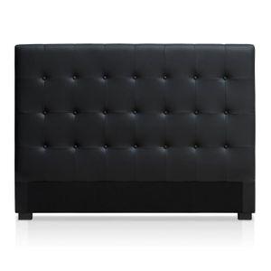TÊTE DE LIT Tête de lit Luxor 160cm Noir