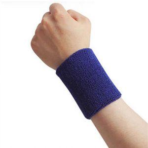 POIGNET ÉPONGE Bandeau de sport tennis de tissu éponge bracelet b