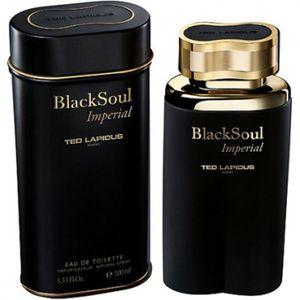 EAU DE TOILETTE Black Soul Imperial de Ted Lapidus EDT Spray 100ml