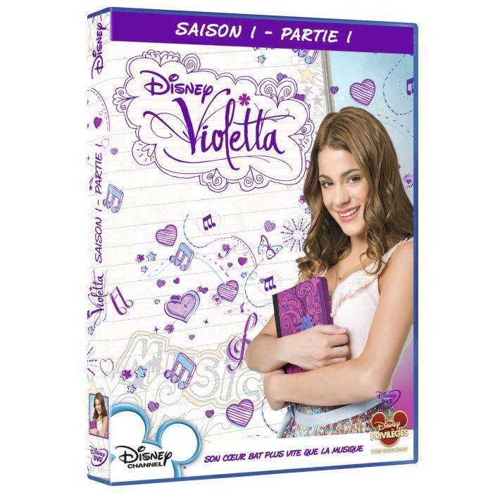 DVD SÉRIE DVD Violetta saison 1 vol 1