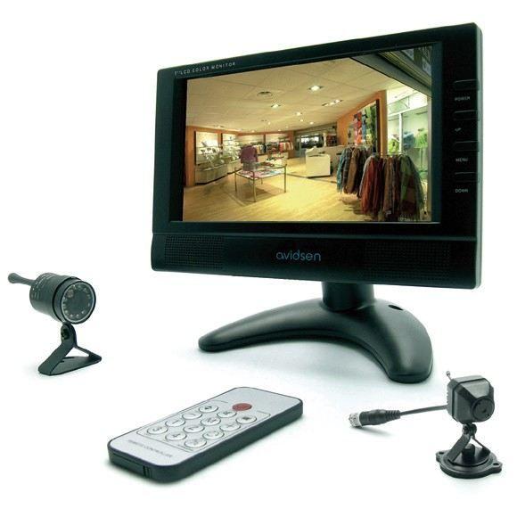 kit de video surveillance sans fil 123150 achat vente. Black Bedroom Furniture Sets. Home Design Ideas