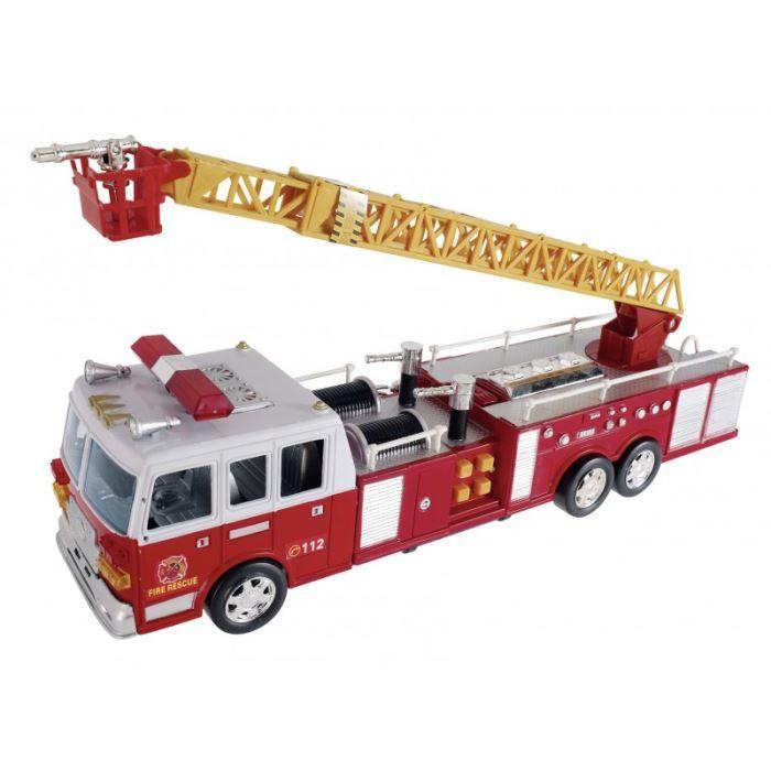 camion pompier achat vente voiture camion camion pompier cdiscount. Black Bedroom Furniture Sets. Home Design Ideas