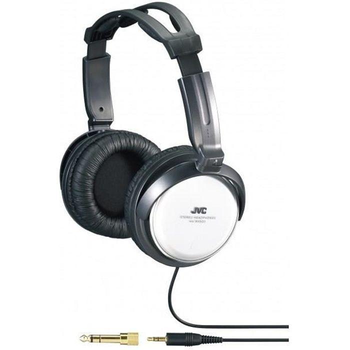 jvc ha rx500 casque hifi argent casque couteur audio. Black Bedroom Furniture Sets. Home Design Ideas