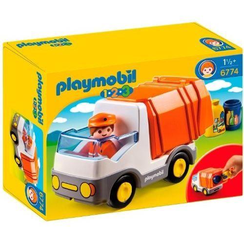 Playmobil – 4129 – Jeu de Construction – Camion de Recyclage ...