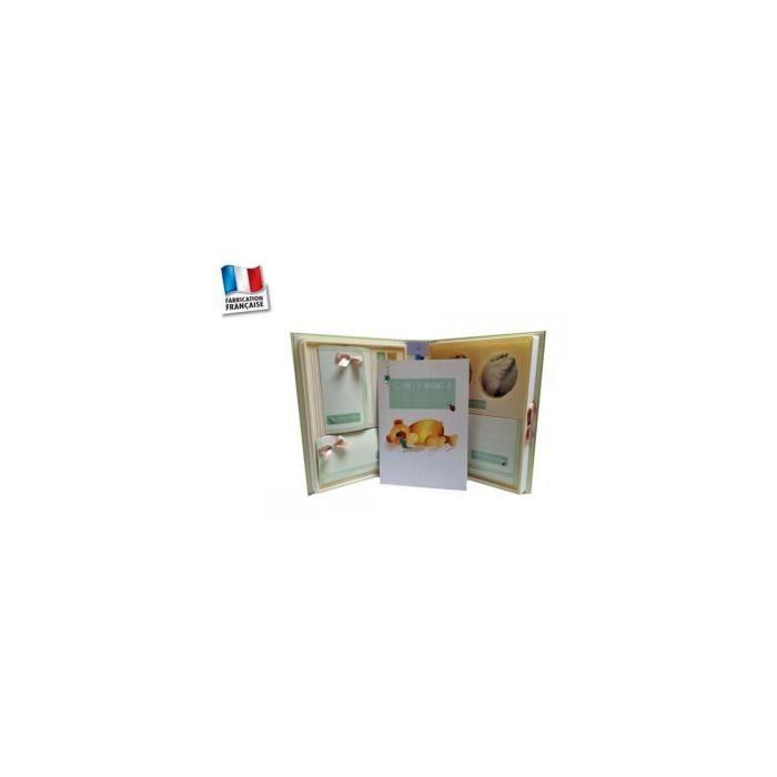 coffret naissance complet avec kit empreinte b b achat vente coffret cadeau souvenir. Black Bedroom Furniture Sets. Home Design Ideas