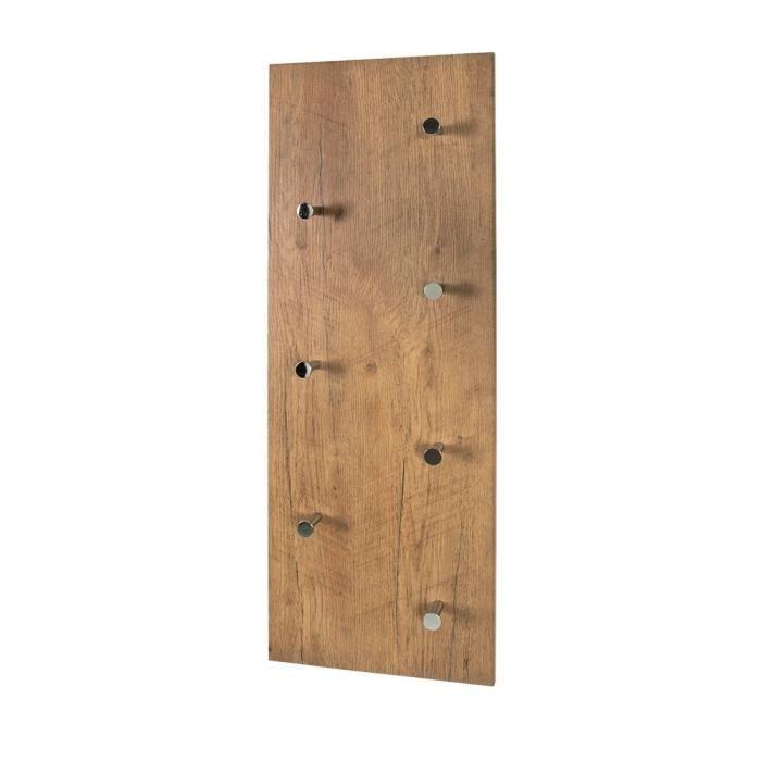 porte manteaux mural lasse ch ne achat vente porte manteau cdiscount. Black Bedroom Furniture Sets. Home Design Ideas