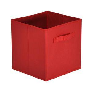 meuble casier rouge achat vente meuble casier rouge pas cher cdiscount. Black Bedroom Furniture Sets. Home Design Ideas