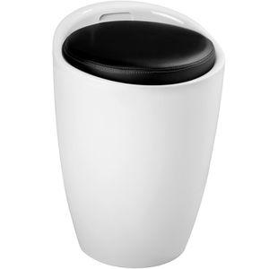 tabouret salle de bain achat vente tabouret salle de bain pas cher les soldes sur. Black Bedroom Furniture Sets. Home Design Ideas