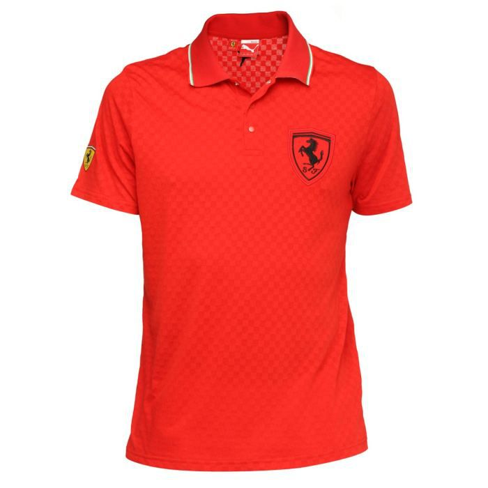puma polo homme rouge achat vente polo puma polo homme cdiscount. Black Bedroom Furniture Sets. Home Design Ideas