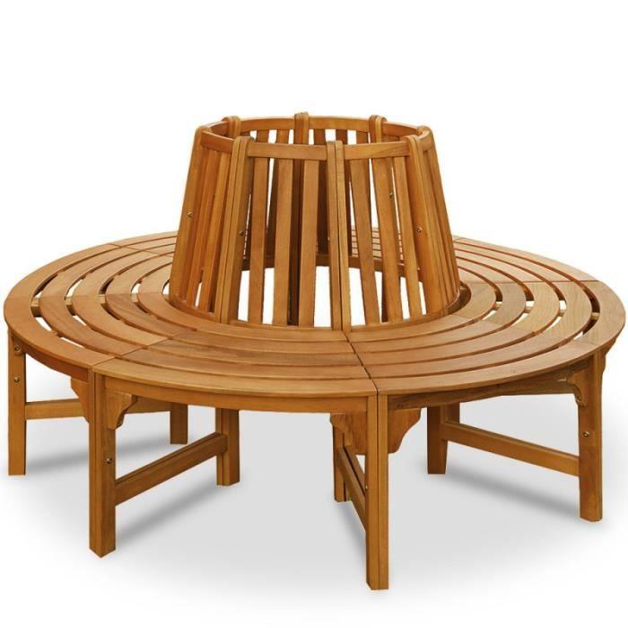 banc rond pour arbre 190 cm achat vente banc d 39 ext rieur banc rond pour arbre 190 cm prix. Black Bedroom Furniture Sets. Home Design Ideas
