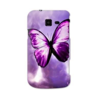 Coque samsung galaxy trend lite papillons violet et - Coque samsung galaxy trend lite blanc ...