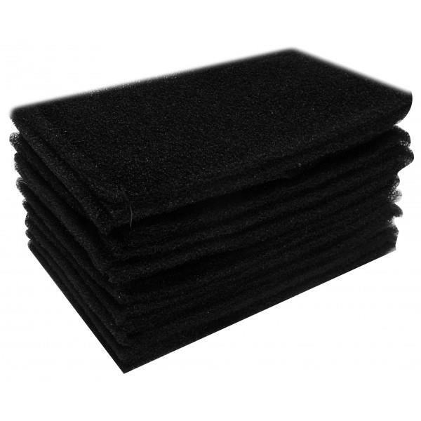 lot de 10 filtres mousse pour aspirateur eau et poussi res. Black Bedroom Furniture Sets. Home Design Ideas