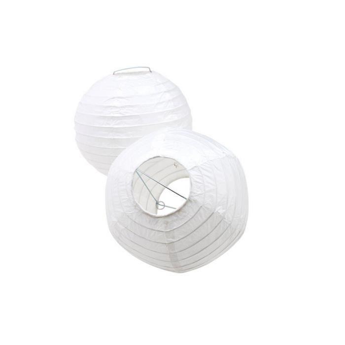 5 pcs 10 pouces lanternes en papier lampion chinois abat jour ronde blanche d coration pour no l. Black Bedroom Furniture Sets. Home Design Ideas