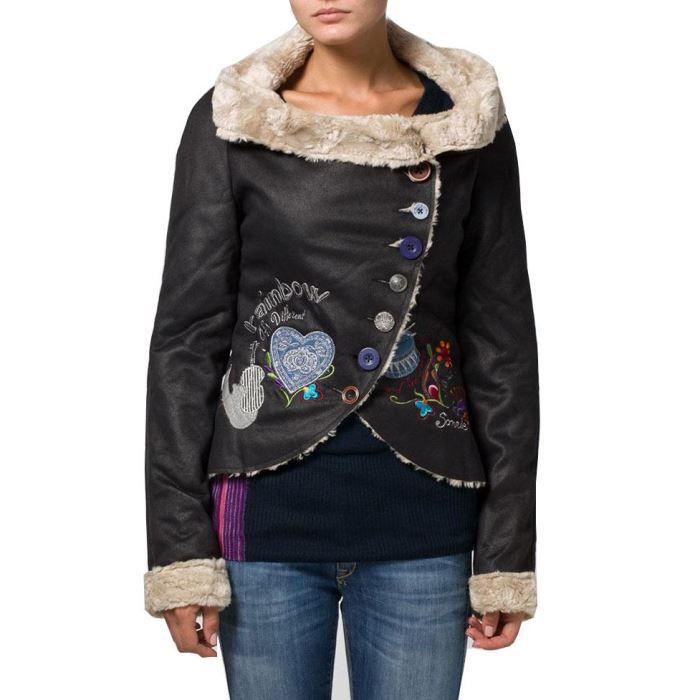 Desigual manteaux femme blouson achat vente manteau caban desigual - Achat de manteau en ligne ...