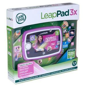 LEAPFROG Tablette Enfant Tactile LeapPad 3x Rose