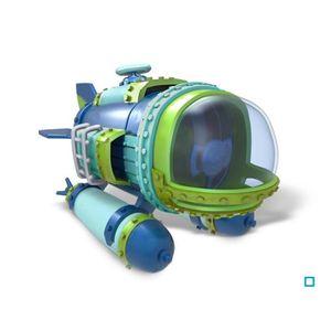 FIGURINE DE JEU Figurine Véhicule Mer - Div Bomber Skylanders Supe