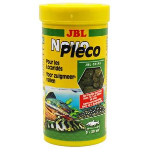 JBL Chip d'algues Novoplecochips - Pour loricaridés - 250ml