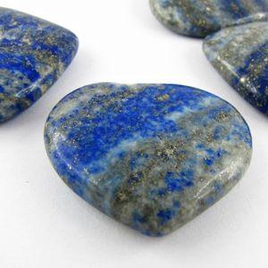 c ur pierre semi pr cieuse en lapis lazuli 25 35mm achat vente pierre vendue seule bleu. Black Bedroom Furniture Sets. Home Design Ideas