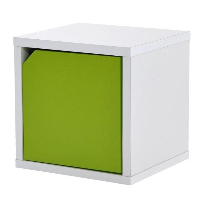 Bloc porte bisko achat vente meuble tag re bloc porte bisko mdf cdiscount - Bloc etagere modulable ...
