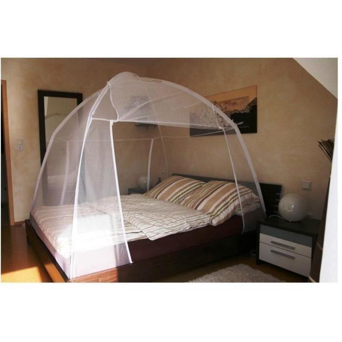moustiquaire amovible de voyage 200x150 x148 cm achat vente moustiquaire ouverture cdiscount. Black Bedroom Furniture Sets. Home Design Ideas
