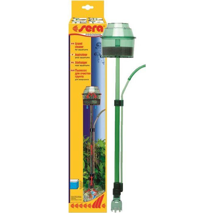Aspirateur aquarium sera limine la vase et sal achat for Aspirateur fond aquarium