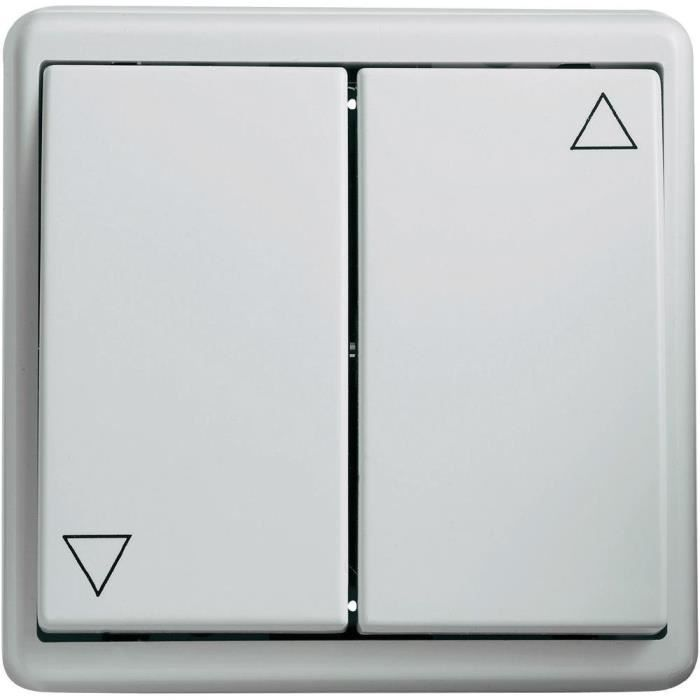 interrupteur encastrable pour stores blanc kais achat. Black Bedroom Furniture Sets. Home Design Ideas
