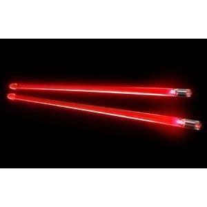 rouge baguettes de batterie lumineuse rouge achat vente baguettes de jeu rouge baguettes. Black Bedroom Furniture Sets. Home Design Ideas