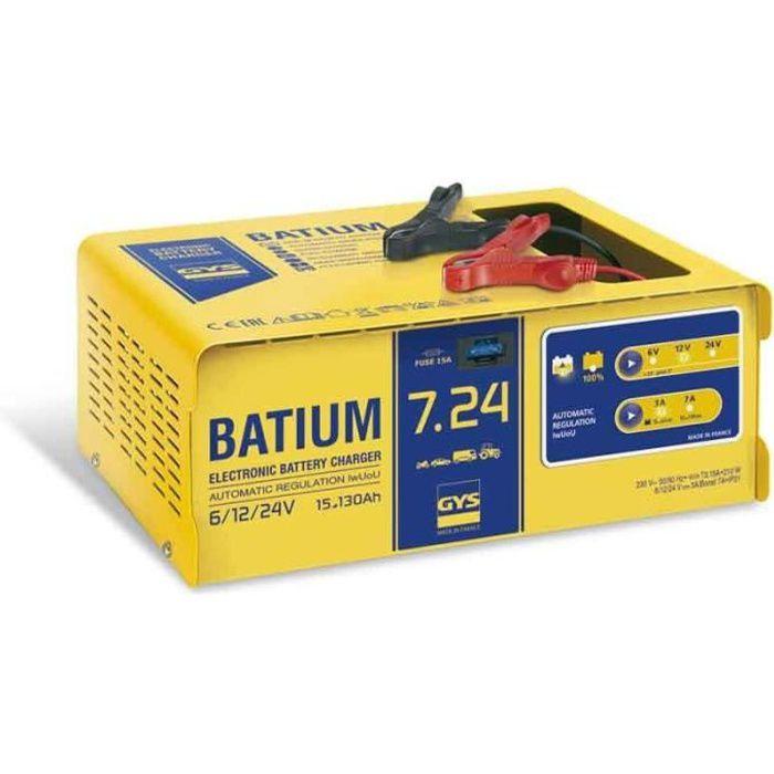 chargeur automatique batium gys 024502 achat vente chargeur de batterie gys 024502. Black Bedroom Furniture Sets. Home Design Ideas
