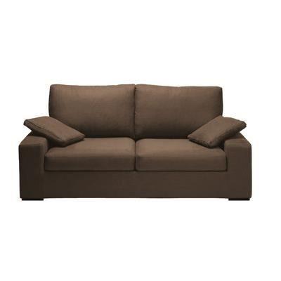 Canap destockage neptune 3 places marron achat vente canap sofa div - Canape destockage usine ...