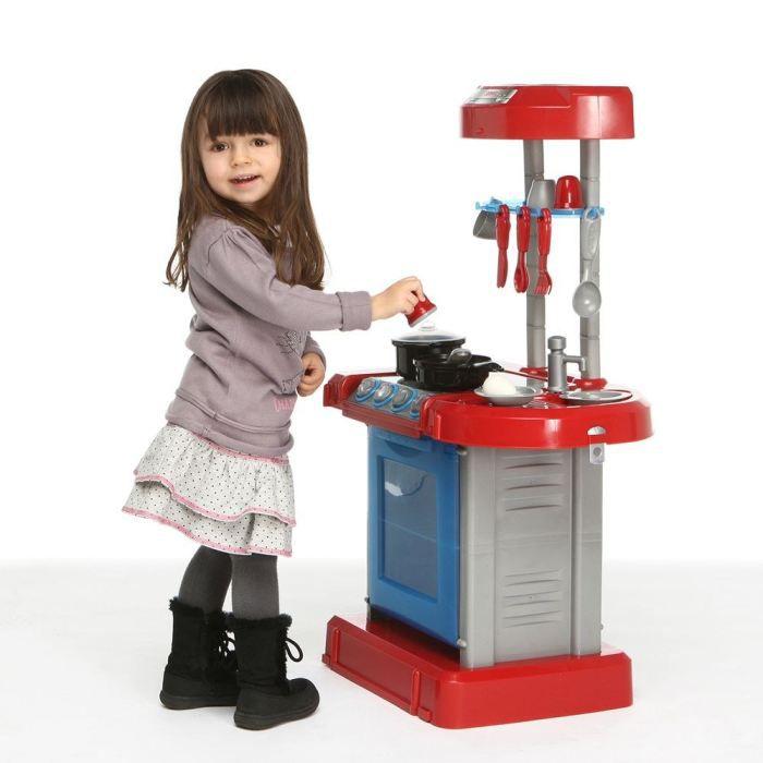 cuisine enfant portable effets sonores achat vente dinette cuisine cuisine portable. Black Bedroom Furniture Sets. Home Design Ideas