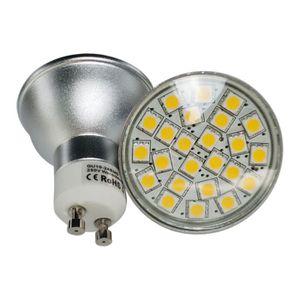 ampoule led gu10 220 volt achat vente ampoule led gu10 220 volt pas cher cdiscount. Black Bedroom Furniture Sets. Home Design Ideas