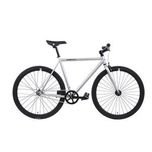 VÉLO DE COURSE - ROUTE FabricBike Grey & Matte noir- Vélo fixie, pignon f