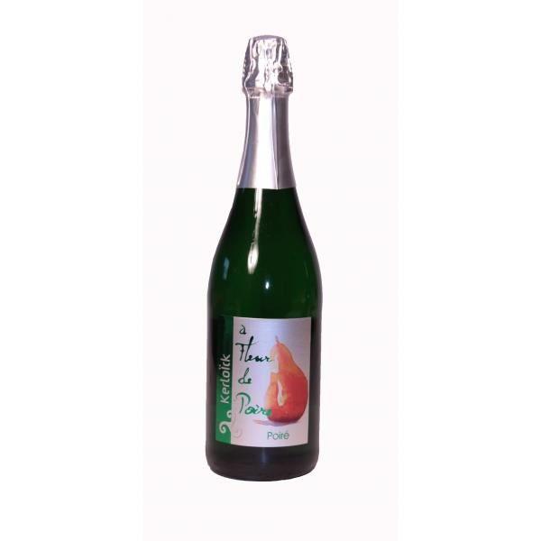 Cidre poir fleur de poire kerlo ck 75cl achat vente for Alcool de poire maison