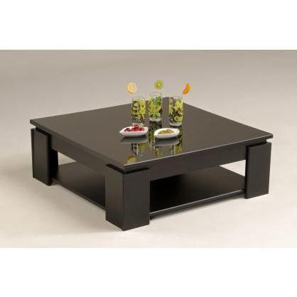 table basse zen noir achat vente table basse table. Black Bedroom Furniture Sets. Home Design Ideas