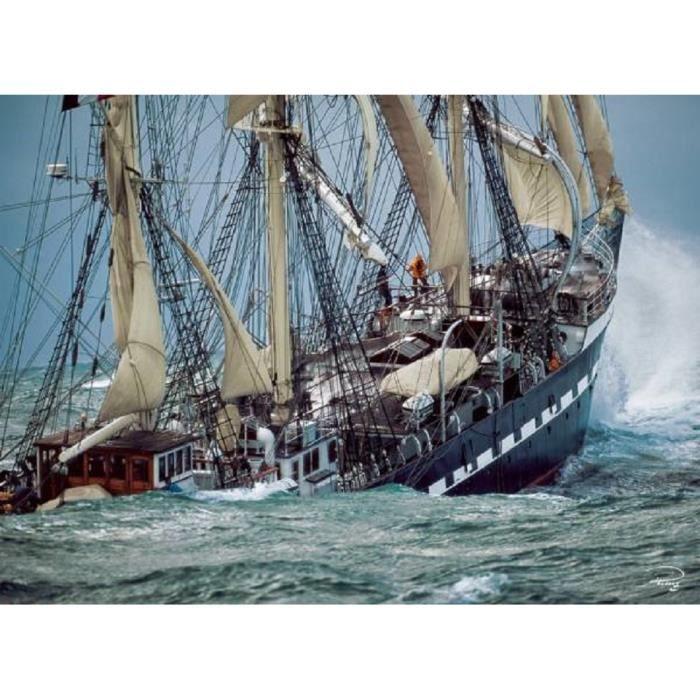 puzzle 1000 pi ces bateau voilier sailing belem collection plisson clementoni 39350 achat. Black Bedroom Furniture Sets. Home Design Ideas