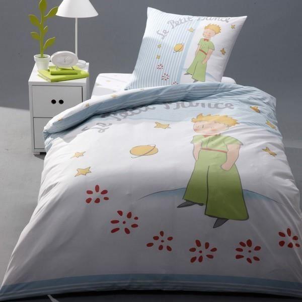 Superbe parure de lit housse de couette le petit prince 135 x 200 cm 100 coton achat - Housse de couette le petit prince ...