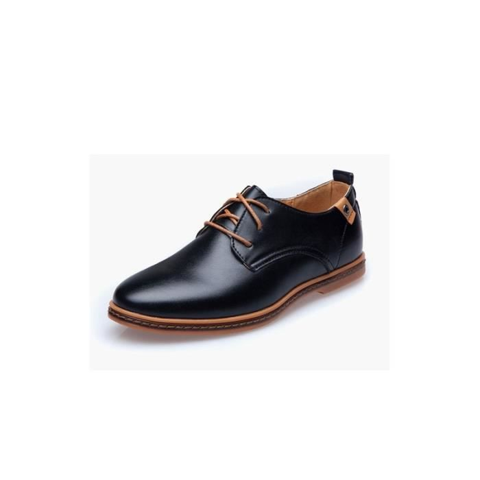 Grande taille dentelle casual chaussures des hommes 8Jxlo